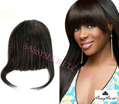 clip in fringe light yaki american clip in bangs fringe for black women
