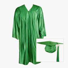 green cap and gown green graduation cap gown and tassel