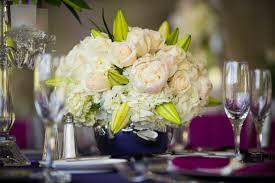 White Centerpieces Wedding Centerpiece Concepts Hydrangea Lilies Roses