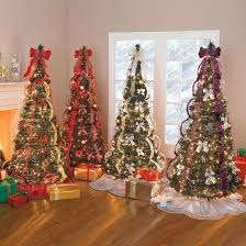 tabletop tree pre decorated trees artificial