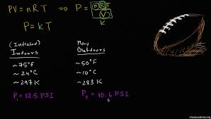 ideal gas equation example 1 video khan academy