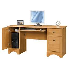 All Wood Computer Desk Solid Wood Computer Desk With Several Drawers An Option Computer