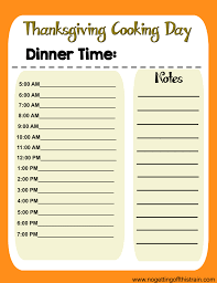 thanksgiving dinner help free thanksgiving prep printables no getting off this train