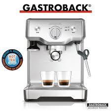 gastroback 42612 design espressomaschine advanced pro g gastroback espresso and coffee cookfunky