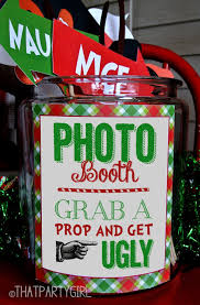 Photo Booth Sign Christmas Party Photo Booth Props U2013 Photo Booth Of The Stars