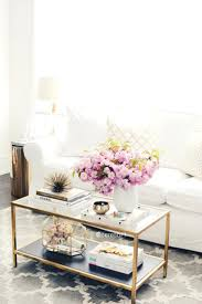 country decorations for home living room coffee table styling white and gold accessories modern