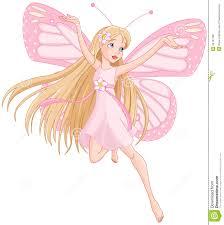 beautiful flying fairy stock vector image 44167196
