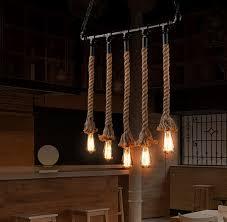 industrial pipe light fixture loft style water pipe l edison pendant light fixtures