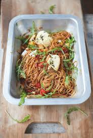 jamie oliver u0027s spelt spaghetti vine tomatoes u0026 baked ricotta