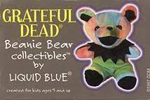 grateful dead beanie bears grateful dead bean bear collectibles