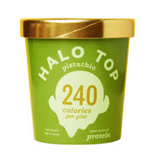 review halo top low carb ice cream