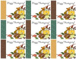 free printable thanksgiving place cards also great for cupcake