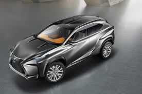 lexus ux suv concept paris lexus lf nx crossover concept is one mean looking hybrid