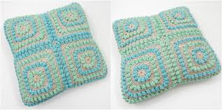 Patterns For Knitted Cushion Covers Squishy Popcorn Cushion Free Crochet Pattern Thecuriocraftsroom