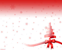 free simple ribbon christmas tree backgrounds for powerpoint
