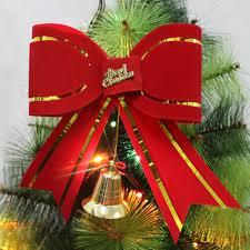 big bow for christmas tree christmas lights decoration