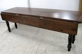 Drop Leaf Oak Table Drop Leaf Table Made From Reclaimed Oak