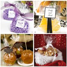 favor ideas a favor for all seasons featuring cellophane favor bags