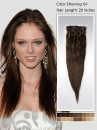 20 inch hair extensions 20 inch chestnut brown human hair extension 115g uss620 vpfashion