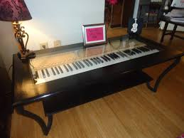 Novelty Coffee Tables by Piano Keys Make Great Coffee Tables The Piano Gal Shop