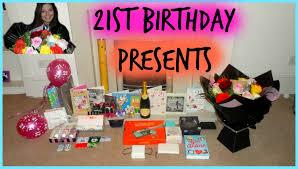 christmas u0026 21st birthday presents saraahweshy youtube