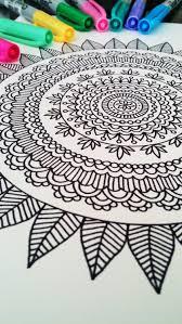 mandala coloring book mehndi henna printable pdf 20
