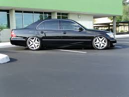 lexus ls430 wheel offset lexus ls 430 custom wheels work wheels varianza d3s 20x9 0 et 35