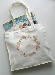 bridal shower gift bags floral tote bag wedding gifts gift bachelorette