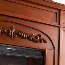 Infrared Electric Fireplaces by Chantilly Bookcase Infrared Electric Fireplace Autumn Oak