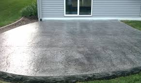 Backyard Stamped Concrete Ideas Decorative Concrete Patios Minneapolis Stamped Concrete Acid