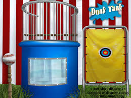 dunk tanks second marketplace tank recreation and entertainment