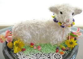 Easter Cake Decorations Ireland easter u0027s sweeter with lamb bunny u0026 easter basket cakes allrecipes