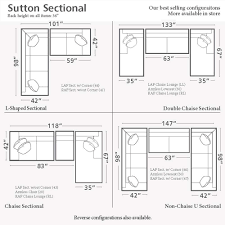 Sofa Drawing by Sutton L Shaped Sectional Living Room Furniture Bassett Furniture