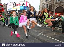 uk 15th march 2015 dancers at the st s