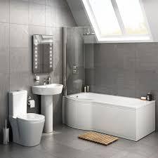 bathroom interesting p shaped shower bath designs sheirma home
