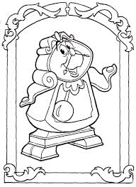 beauty and the beast coloring pages online belle touches beast