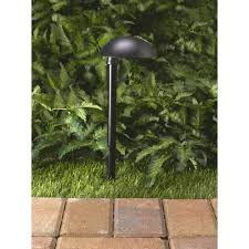 Craftmade Outdoor Lighting Westinghouse Plastic Low Voltage Pathlight Black Finish Walmart Com