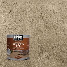 behr premium 1 qt d 870 sand concrete dye 86304 the home depot