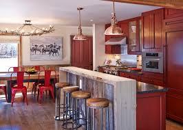 aspen wood wall kitchen room rustic bar counter kitchen rustic aspen wood panel