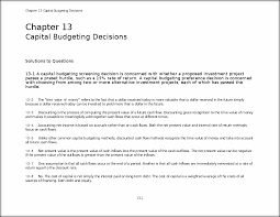 solutions manual chapter13 chapter 13 capital budgeting