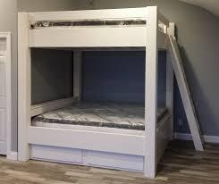 bunk beds queen over queen bunk beds full over full metal bunk