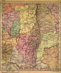 Ural Mountains On World Map by Old Russia Maps And The World