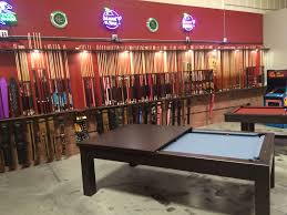 game room pool tables pacman arcade pool cues billiard
