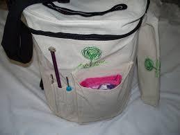 t shirt organizer life glow knitting bag yarn storage tote organizer for carrying