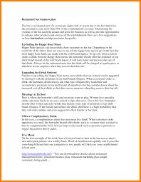 7 restaurant business plan example packaging clerks restaurants
