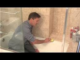 Clean Bathroom Showers Cleaning Your Shower How To Clean Rubber Seal Around Shower