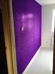 Purple Accent Wall by Purple Glitter Wall Beautiful Walls U0026 Flooring Ideas