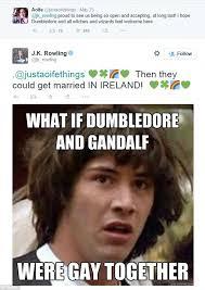 Anti Gay Marriage Meme - harry potter author j k rowling obliterates westboro baptist