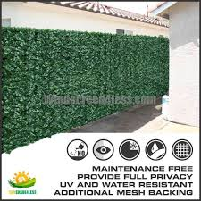 Fake Shrubs 6 U0027 Tall Artificial Faux Ivy Leaf Privacy Fence Screen Decoration