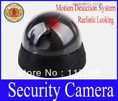 motion light security camera retail realistic hemisphere looking motion detection system security